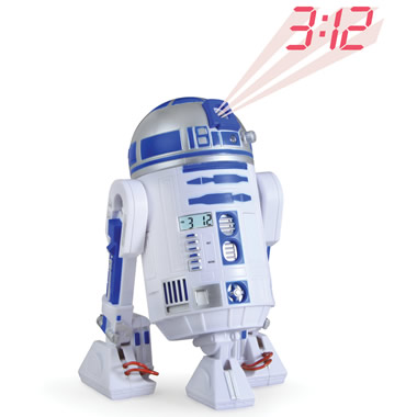 The R2-D2 Projection Alarm Clock