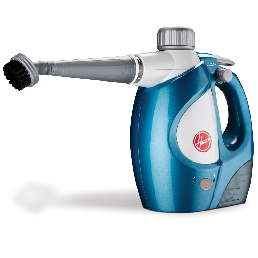 The Handheld Disinfectant Steam Cleaner.