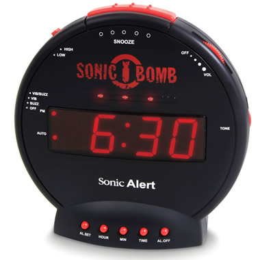 The Thunderclap Alarm Clock