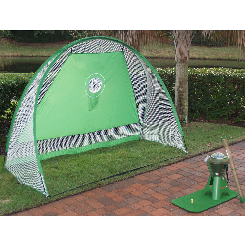 the backyard driving range hammacher schlemmer