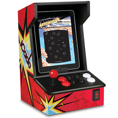 The iPad Arcade Game Cabinet