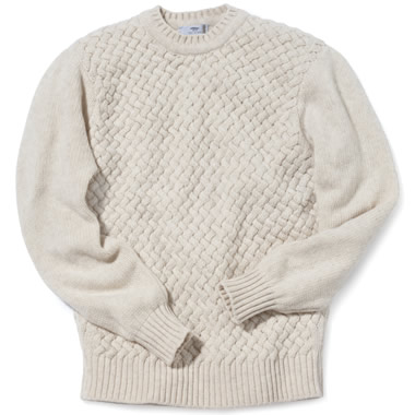 The Irish Basket Weave Sweater