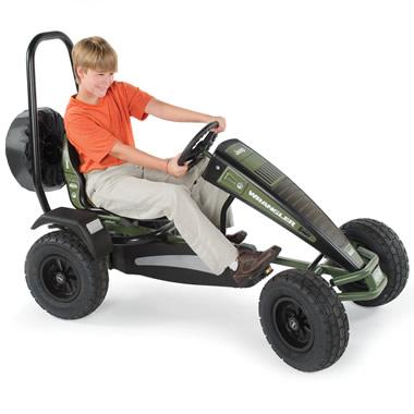 The All Terrain Jeep Pedal Car.