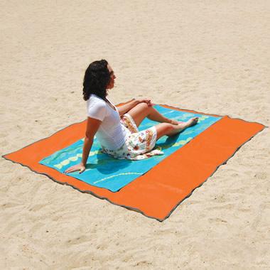 The Sandless Beach Mat.