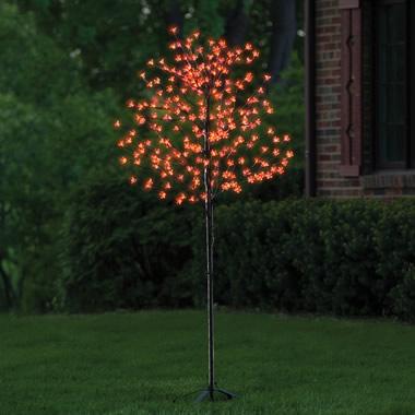 The Prelit Halloween Tree