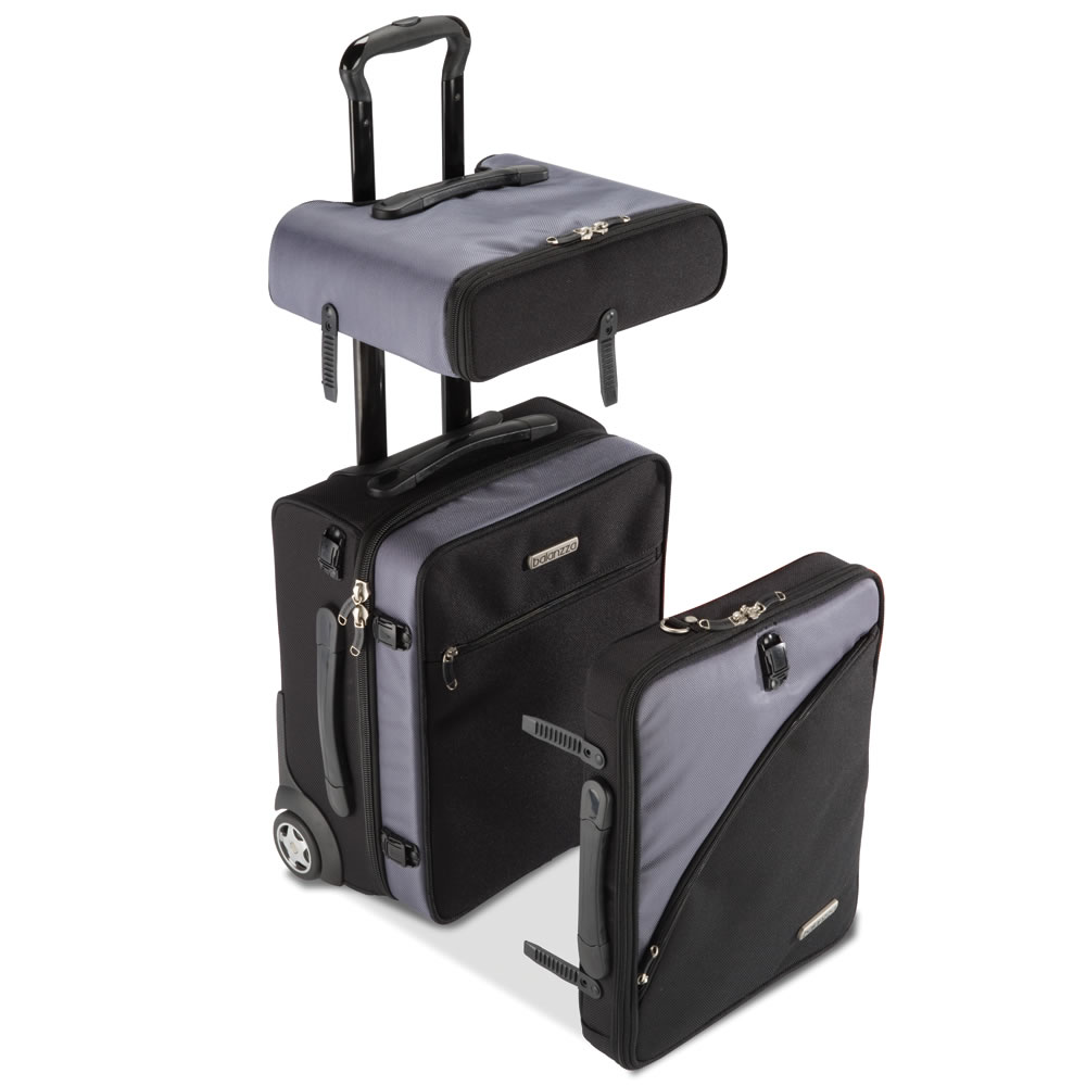 The Detachable Carry On Bag Hammacher Schlemmer