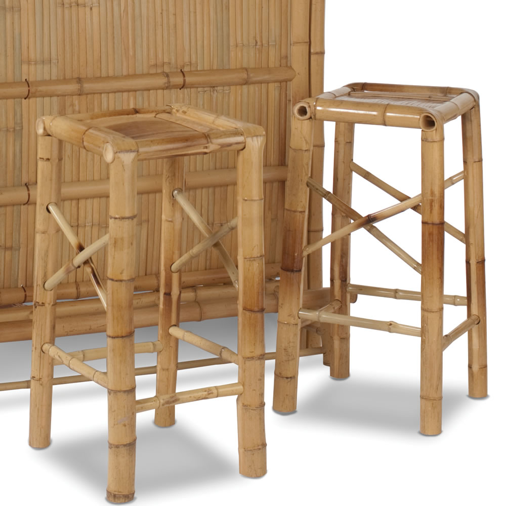 Additional Bamboo Bar Stools Hammacher Schlemmer