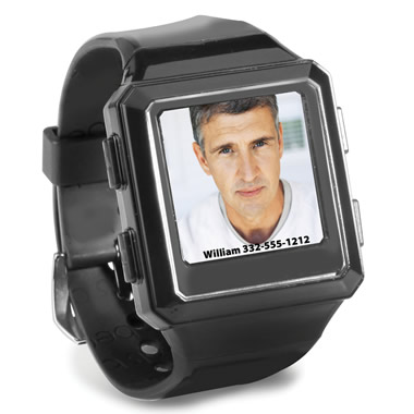 The Caller ID Photo Watch.