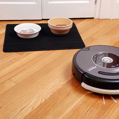 The Roomba Repelling Floor Mat