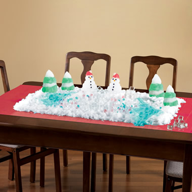 The Instant Indoor Snowman Kit