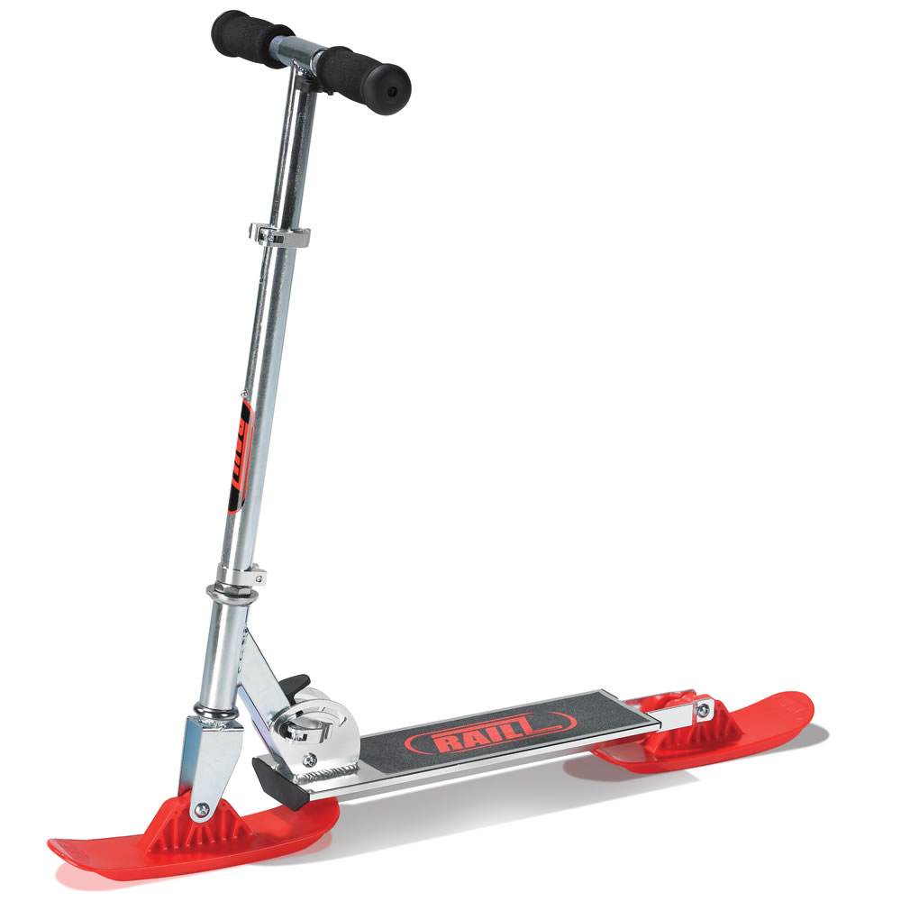 The Street And Snow Scooter Hammacher Schlemmer
