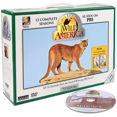The Complete Wild America DVD Collection.