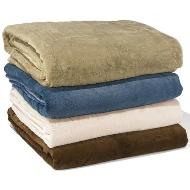 The Warmer Than Down Plush Blanket