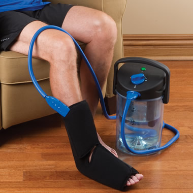 The Adjustable Temperature Hot or Cold Therapy Wrap.
