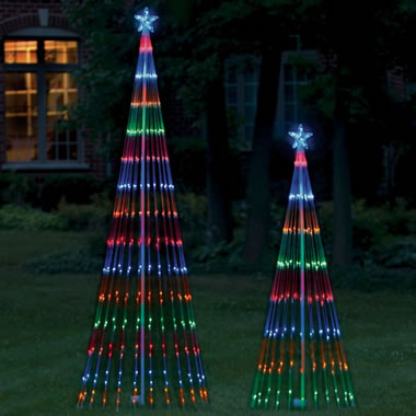 The LED Light Show Tree