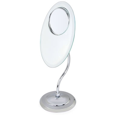 The Finer Details 1X-3X-8X Magnifying Mirror.