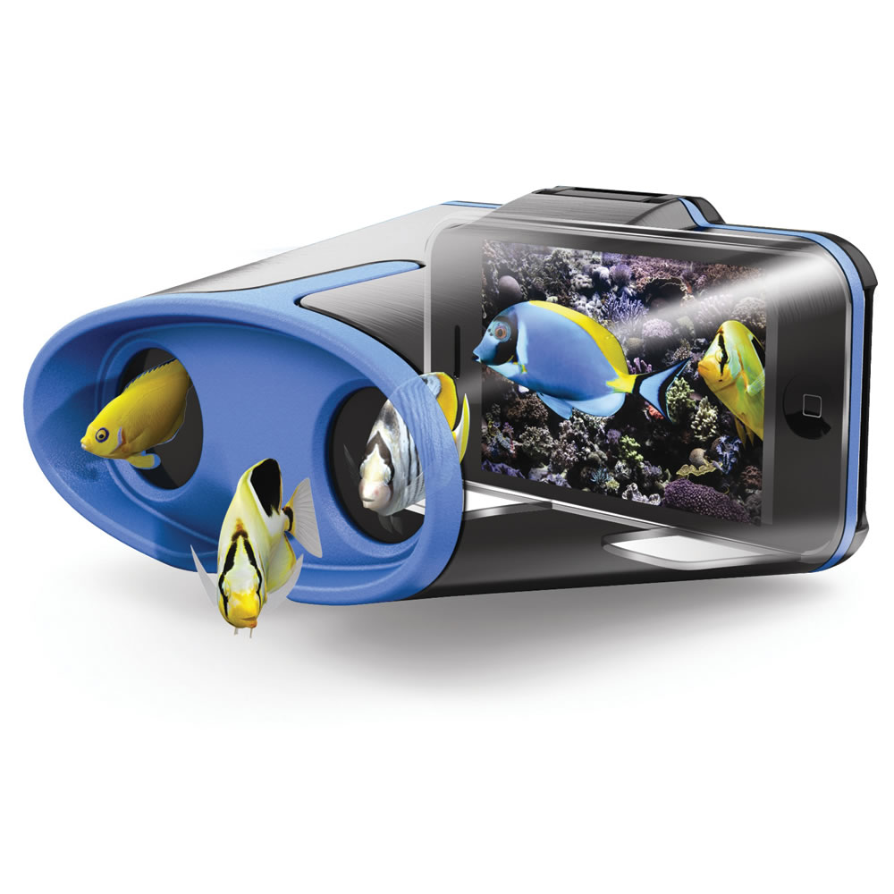 virtual reality iphone the iphone reality viewer hammacher schlemmer 1468