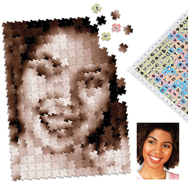 The Infinite Image Portrait Puzzle.