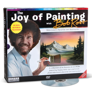 The Bob Ross Painting Tutorial