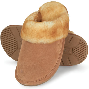 The Genuine Australian Sheepskin Scuffs (Women's).