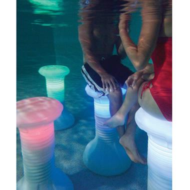 The Illuminated In Pool Barstool
