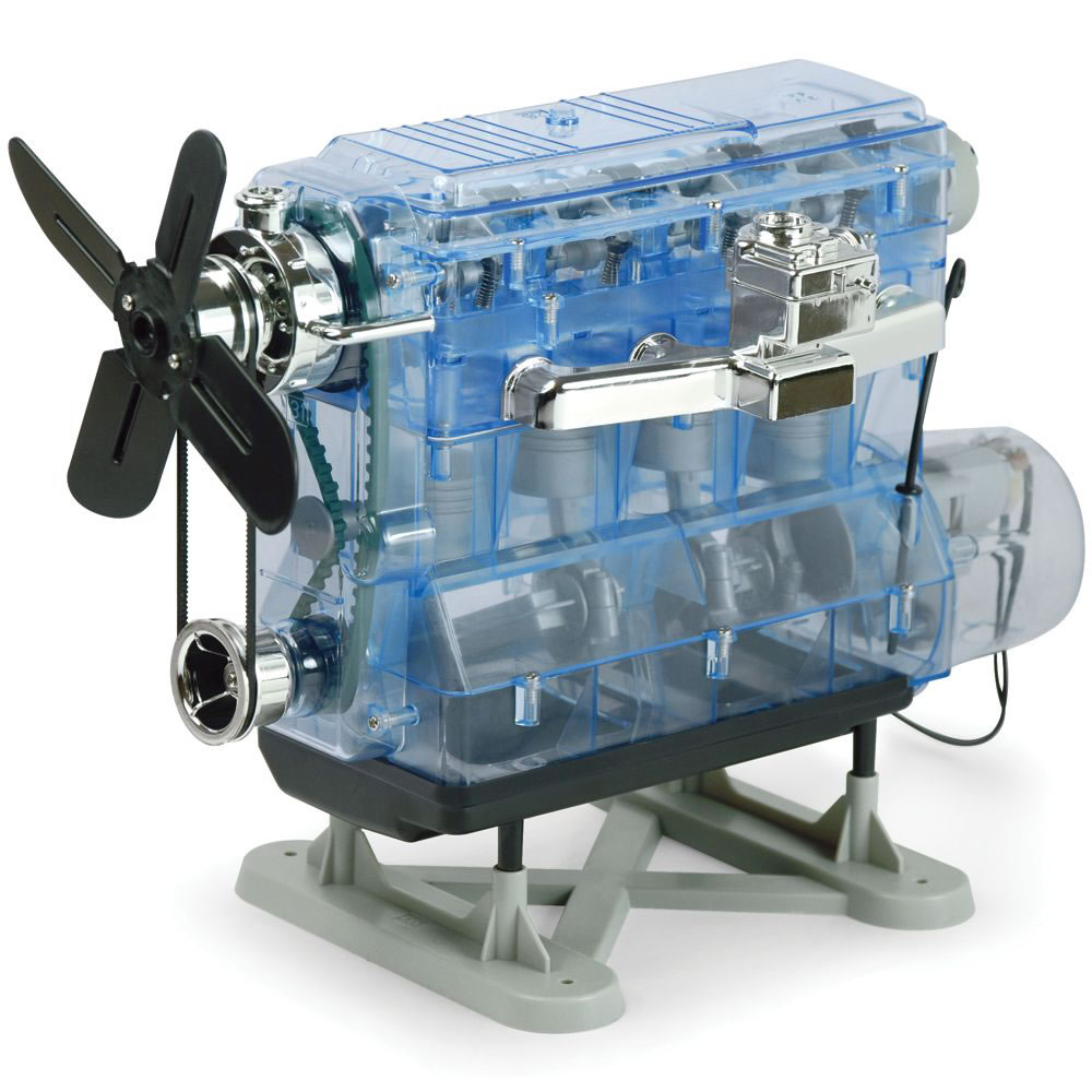 The Internal Combustion Engine Kit Hammacher Schlemmer Block Diagram