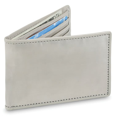 The Stainless Steel Wallet.