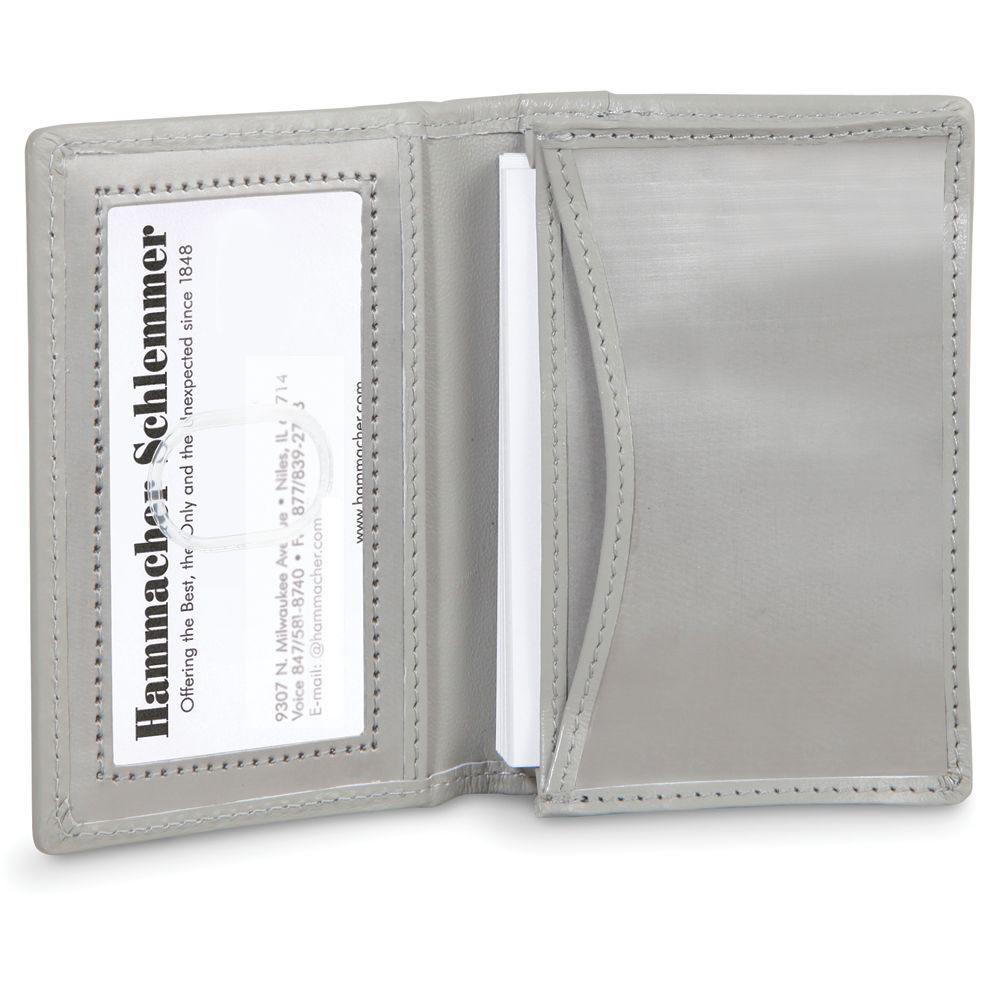 The Stainless Steel Business Card Case - Hammacher Schlemmer