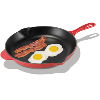 The Best Enameled Cast Iron Skillet