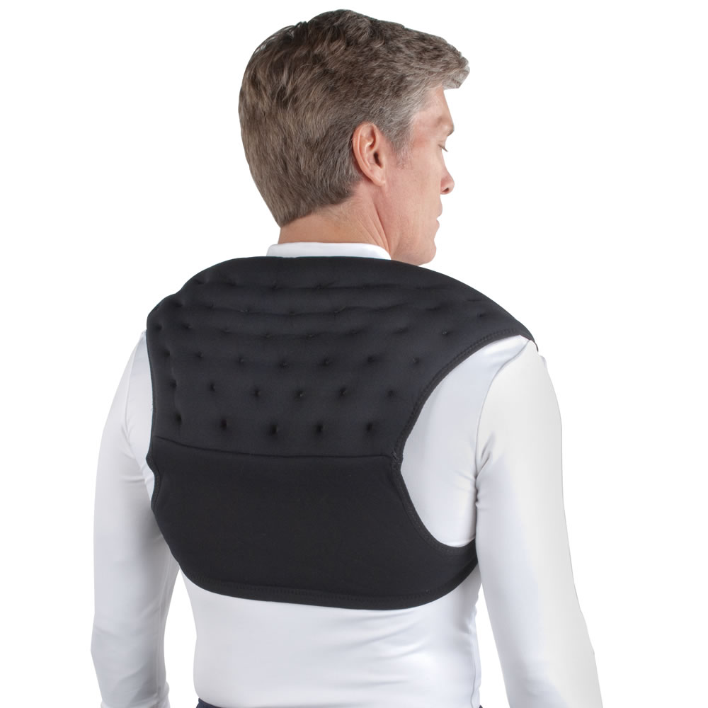 The Wearable Neck Or Upper Back Heating Pad Hammacher