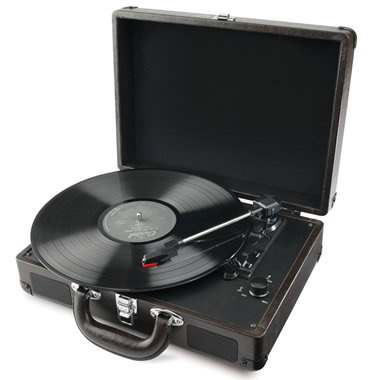 The Briefcase LP To MP3 Converter.