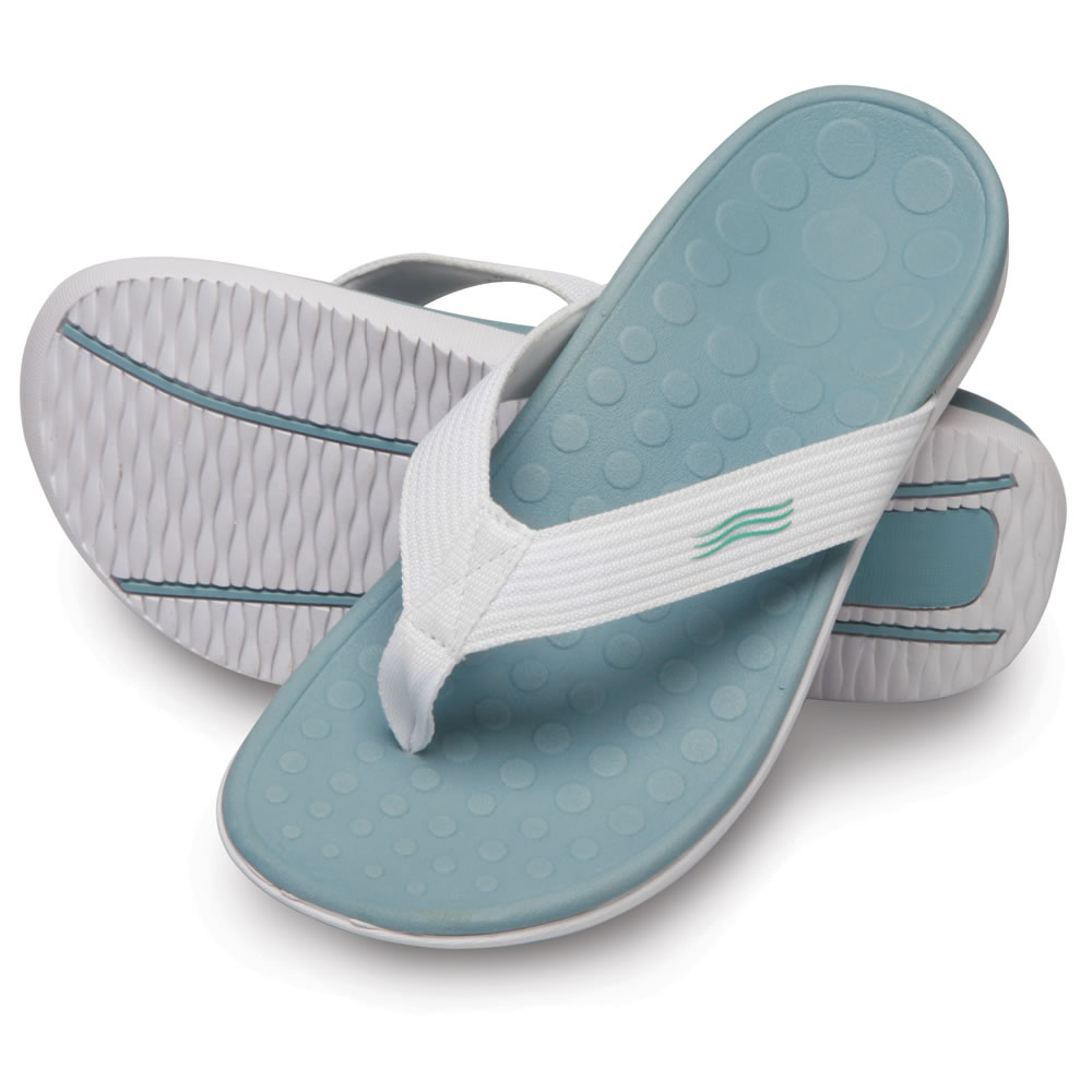 3add5bb518 The Lady's Plantar Fasciitis Orthotic Sandal - Hammacher Schlemmer