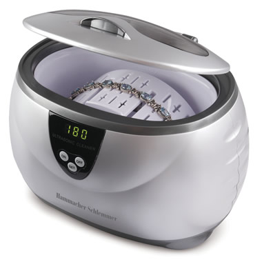 The 42,000 Hz Ultrasonic Jewelry Cleaner
