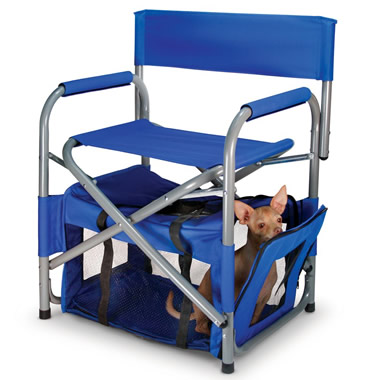 The Portable Chair And Pet Quarters