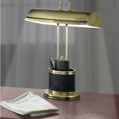 The Eyestrain Reducing Banker's Lamp