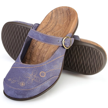 The Lady's Plantar Fasciitis Mules