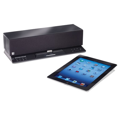 The Cordless iPad Stereo.