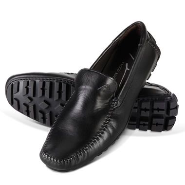 The Italian Leather Driving Moccasins