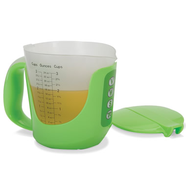 The Talking Measuring Cup.