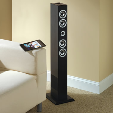 The Bluetooth Speaker Tower.