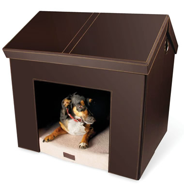 The Foldaway Dog House.