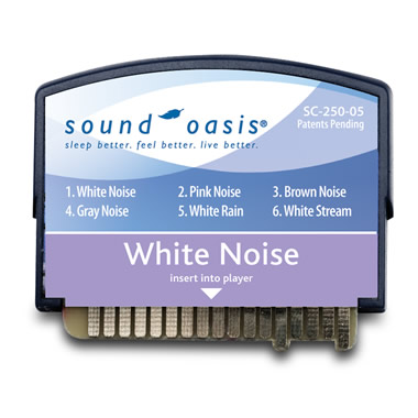 White Noise Sound Card for The Authentic Sound Oasis Machine