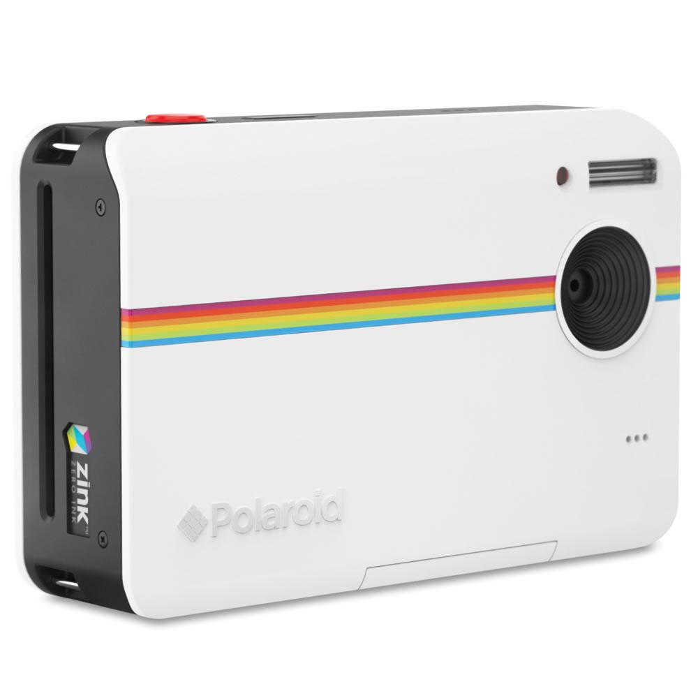 The Digital Polaroid Camera (White) - Hammacher Schlemmer