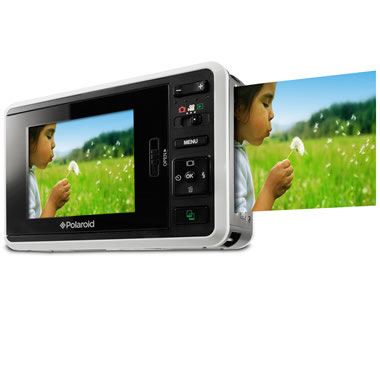 The Digital Polaroid Camera (White).