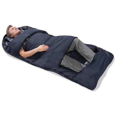 The Zippered Vents Sleeping Bag.
