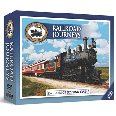 The Railroad Journeys DVD Collection