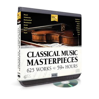 The 625 Classical Music Masterpieces CD Compendium
