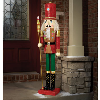 The 5' Lighted Nutcracker.