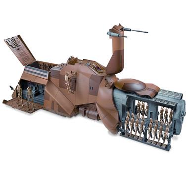 The Star Wars Droid Transport.