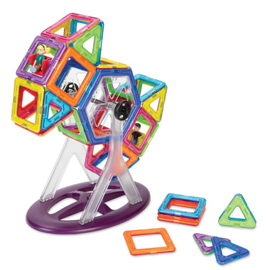 The Magnetic Tile Carnival Kit